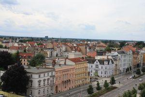 Blick über die Karl-Liebknecht-Straße